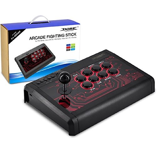 Adobe Universal 6 In 1 Wired Fighting Stick Para Ps4, Ps3