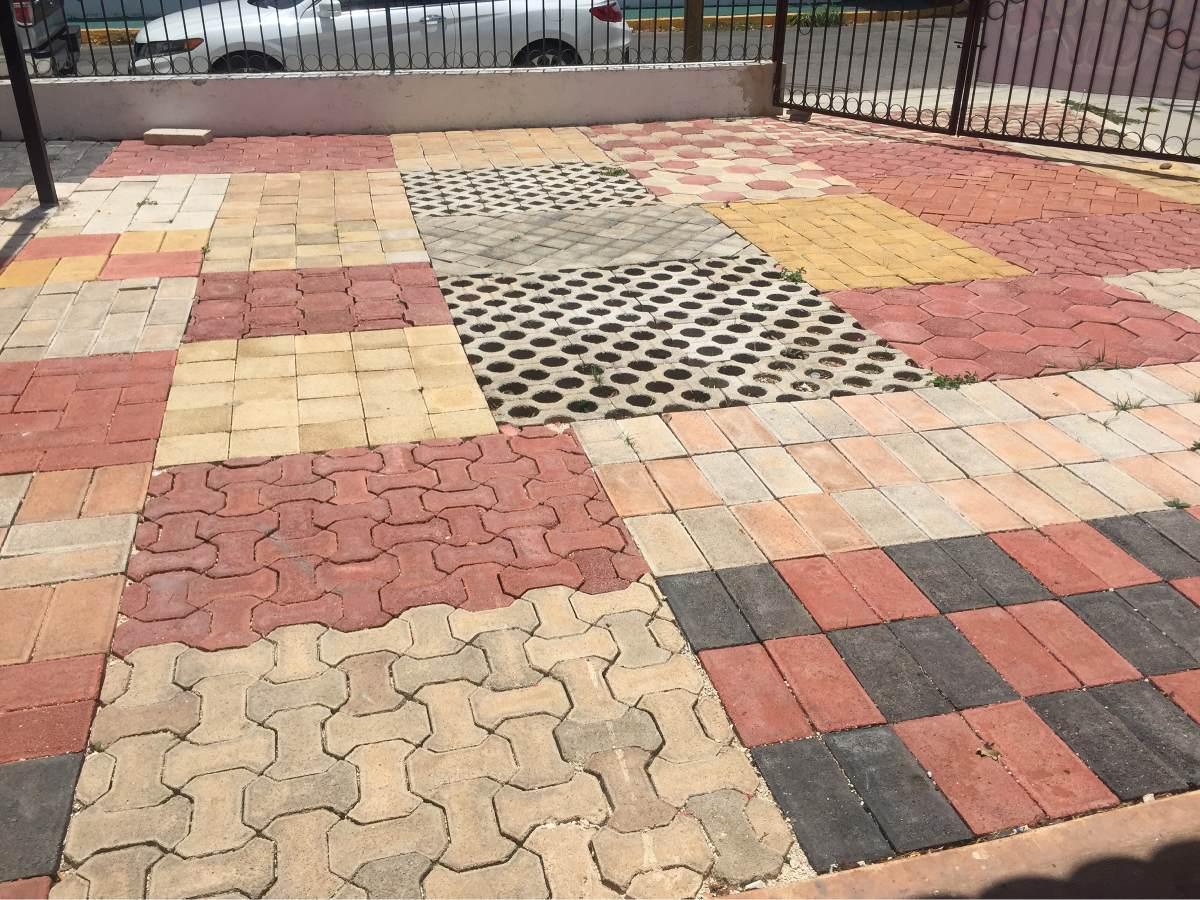 Adocretos materiales de construcci n en mercado libre for Adoquin para estacionamiento