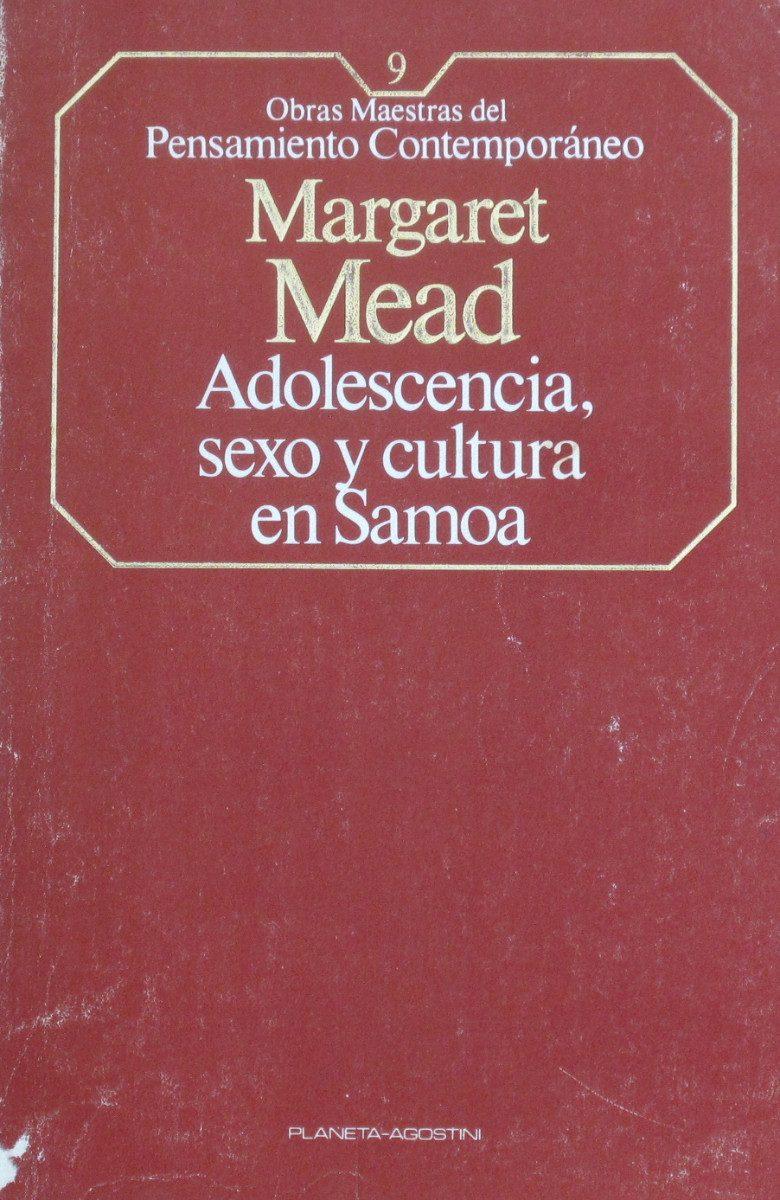 Adolescencia Sexo Y Cultura En Samoa, Mead, Ed. Planeta - $ 170,00 ...