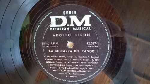 adolfo beron vinilo la guitarra del tango milonga sentimenta