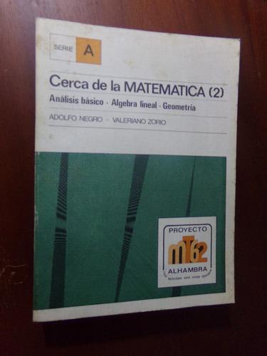 adolfo negro - valeriano zorio, cerca de la matematica (2)