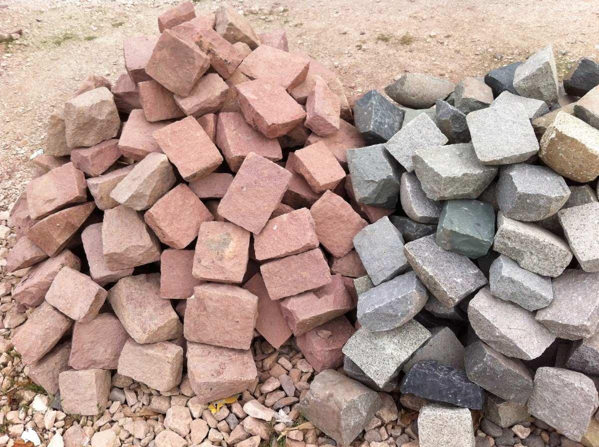 Adoquines artesanales de piedra en mercado libre for Adoquines de piedra precios