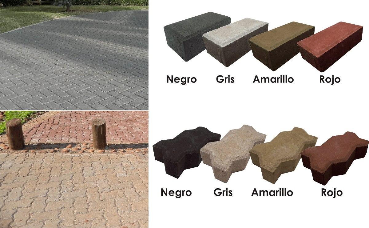 adoquines de hormign pavimento x m