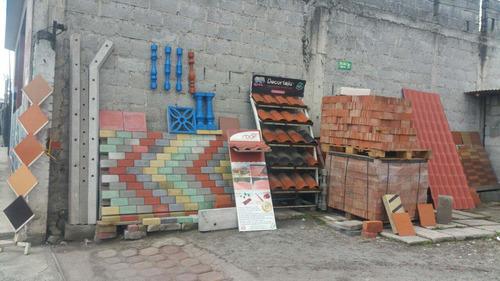adoquines, tejas, bloques, bordillos,lavanderías,postes