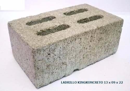 adoquines y ladrillos king kong de concreto