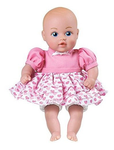 adora baby tots pink dress 85 girl weighted cuddly washable