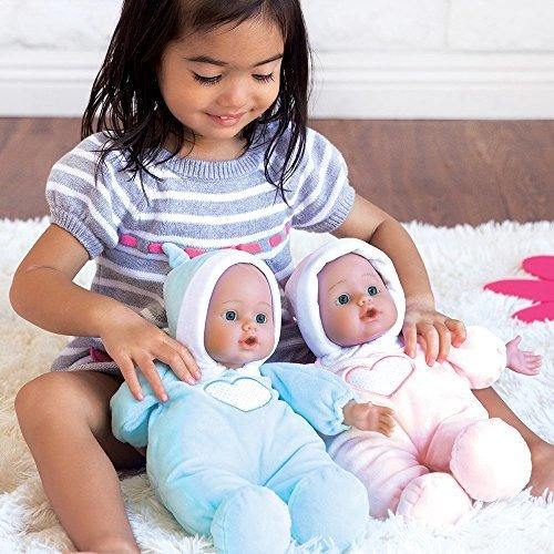 adora cuddle baby doll blue 13 boy weighted cuddly lavable s