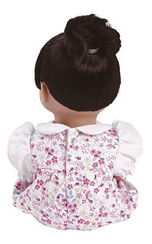adora playtime baby floral romper 13 niña ponderada lavable