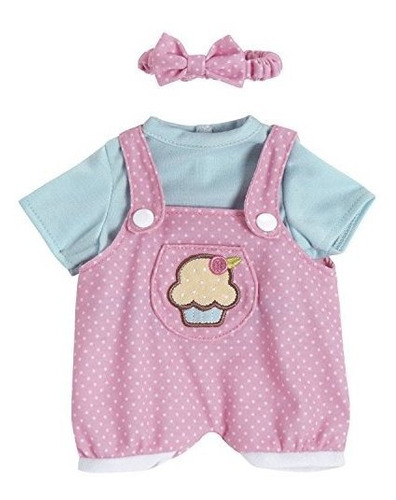 adora playtime baby outfit cupcake jumper