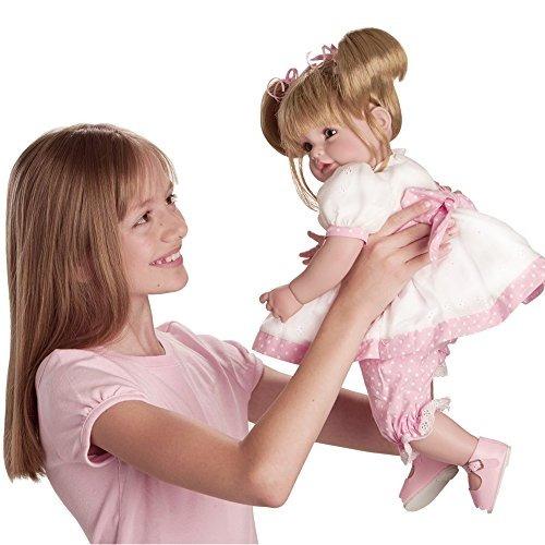 adora toddler happy birthday baby 20 '' muñeca ponderada