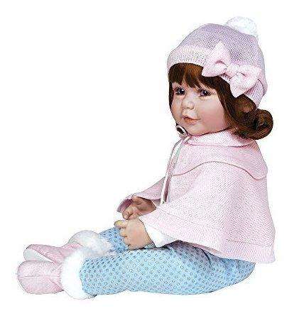 adora toddler jolie 20 girl weighted doll gift set para niñ