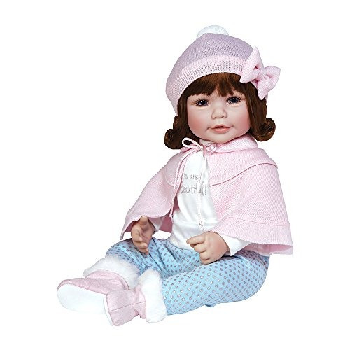 adora toddler jolie 20 girl weighted doll gift set para niño