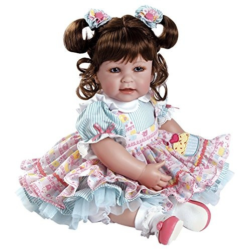adora toddler piece of cake 20 girl weighted doll set de