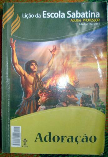 adoração lição da escola sabatina