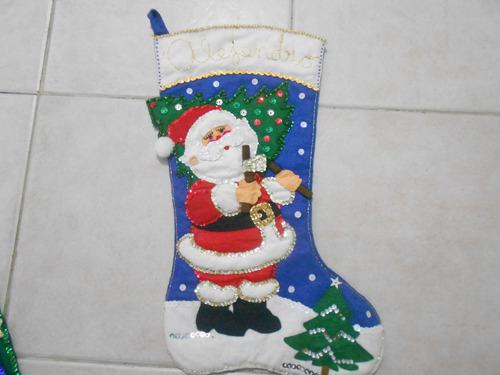 adornas navidad  bordado hechos a mano