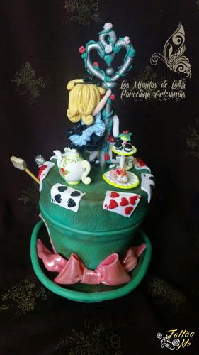 adorno alicia pais maravillas porcelana fría deco candybar