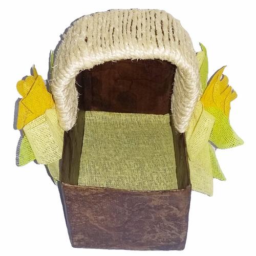 adorno caja soga navidad regalo amor hogar decoracion