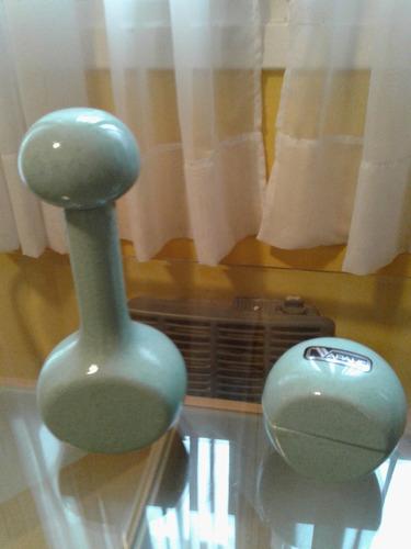 adorno caramelera marca ceramica vapahc, color verde
