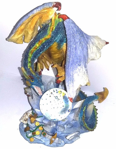 adorno coleccion dragon bola cristal cambia colores navidad