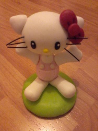 adorno cotillon hello kitty