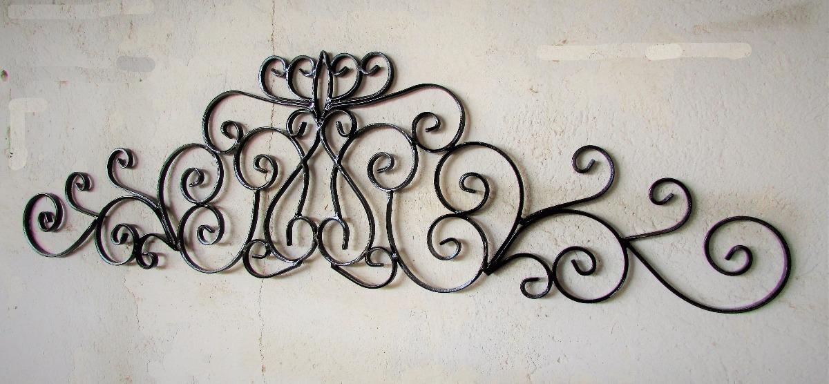 Adorno de herreria artistica para pared decoracion hierro - Adornos de pared de forja ...