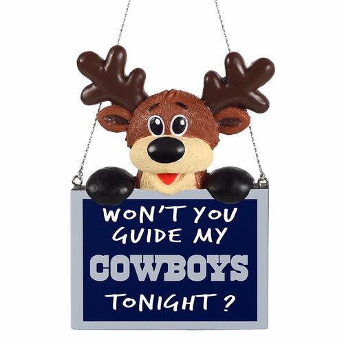 adorno de navidad 2015 nfl football team logo reindeer