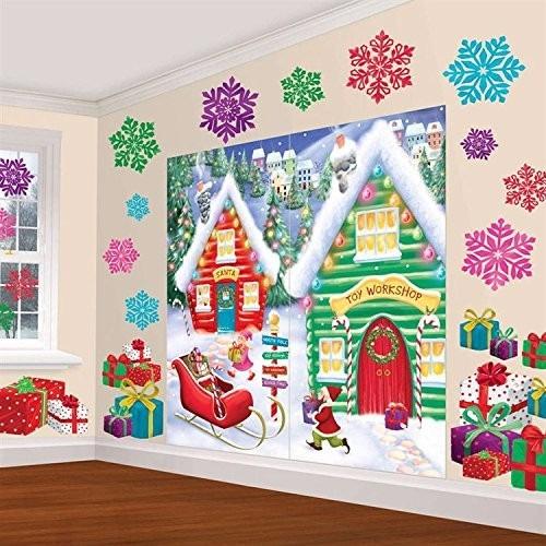 adorno de navidad amscan winter wonderland christmas party