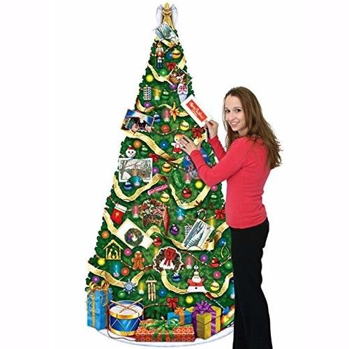 adorno de navidad beistle 1-pack jointed christmas tree