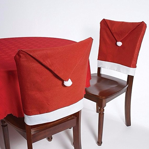 adorno de navidad christmas house 20  santa hat chair