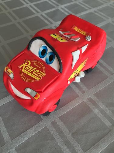 adorno de torta del rayo mc queen cars