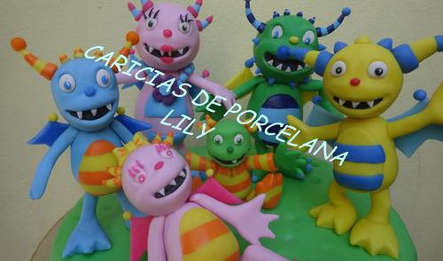 adorno de torta henry el monstruito!!