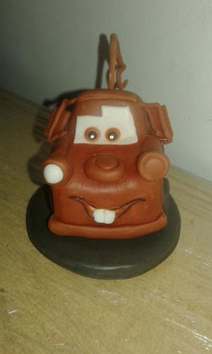 adorno de torta mater cars