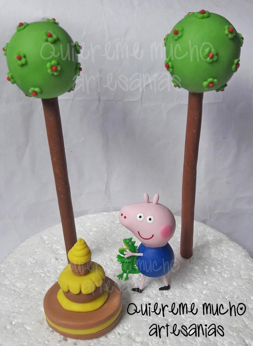 De Porcelana Adorno Torta Fría Peppa Pig USzpMV