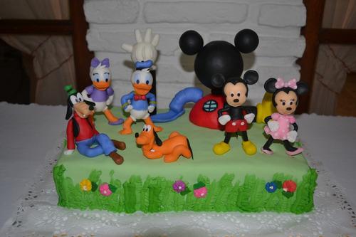 adorno de torta personalizado: personajes disney bebés