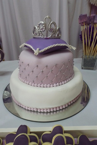 adorno de torta princesa sofia