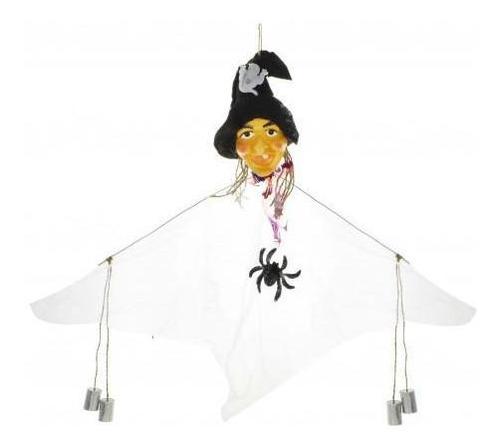 adorno decoracion cotillon halloween colgante bruja