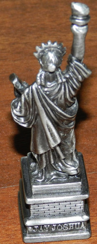 adorno estatua de la libertad original de nueva york