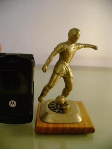 adorno figura bronce