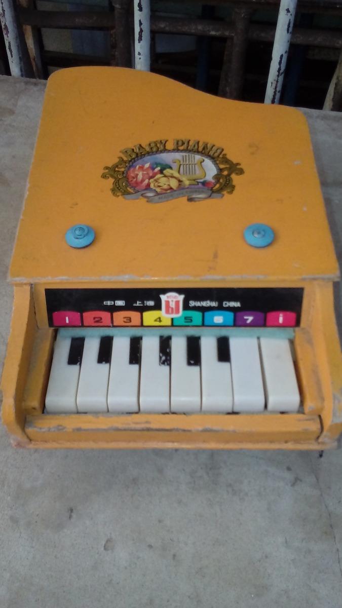 Adorno Juguete Piano 500 00 Madera De Usado1 q5j3R4AL
