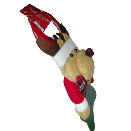 adorno manija reno puerta 37 cm hogar navidad regalo amor