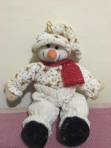 adorno muñeco de navidad para el árbol. usado