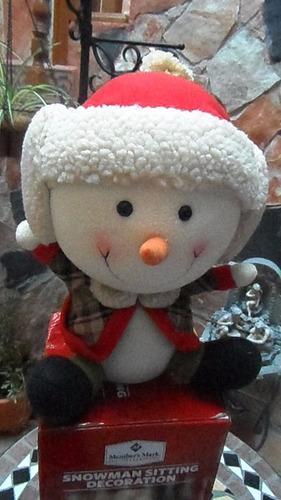 adorno navideño muñeco nieve member's mark