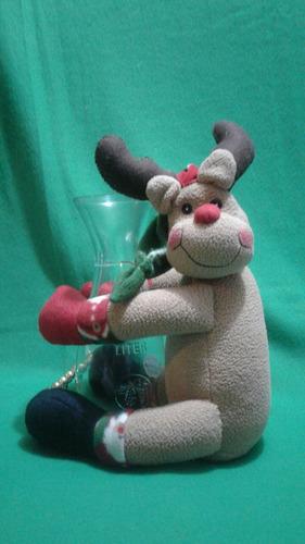 adorno navideño porta vino porta jarra