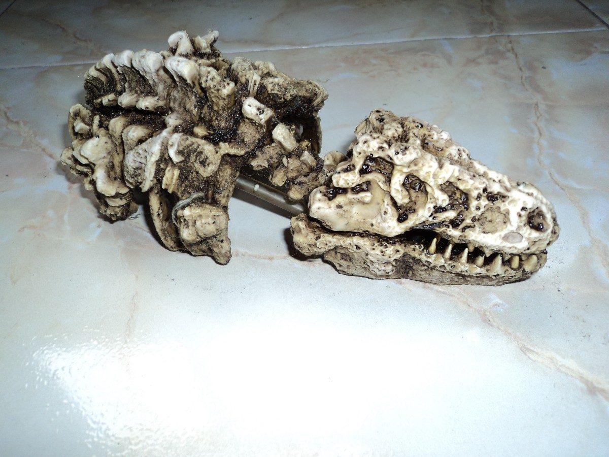 Adorno Para Acuario Con Forma De Esqueleto De Dinosaurio - $ 130.00 ...