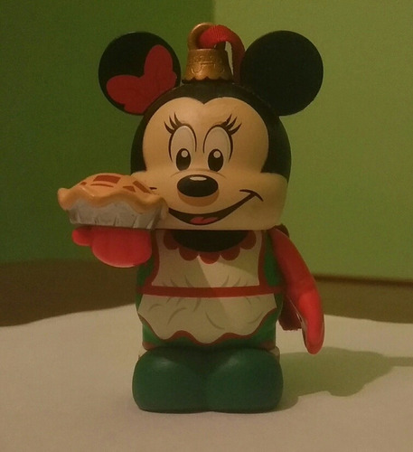 adorno para árbol navideño, minnie mouse repostera.