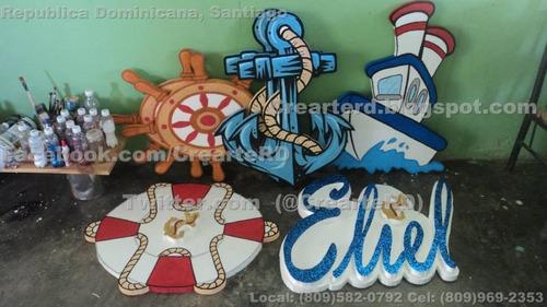 adorno para cumpleaños decoracion de marinerito marinero