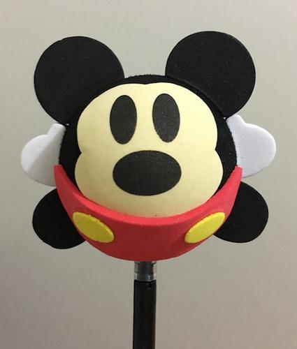 adorno para la antena de autos - mickey  y minnie - toppers