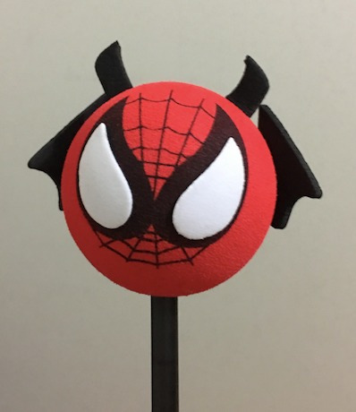 adorno para la antena de autos y camionetas - hombre araña
