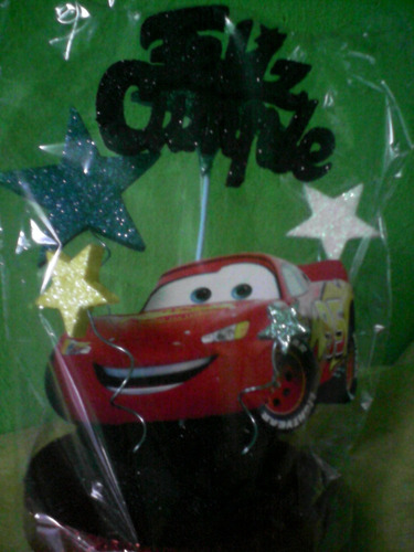 adorno para torta cars!!!
