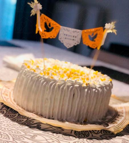 adorno para torta comunión + bautismo + cake topper